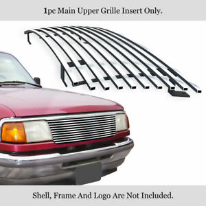 Fits 1993 1997 Ford Ranger Stainless Steel Billet Grille Grill Insert