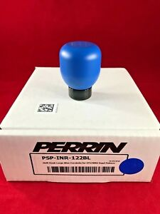 Perrin Blue Weighted Shift Knob 6 Speed Subaru 04 17 Sti 05 17 Wrx 453 Grams