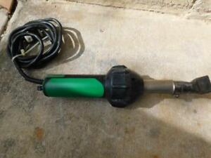 Leister Triac St Hot Air Blower Heat Gun Plastic Welder Roofing