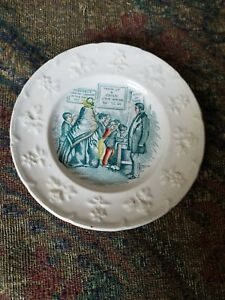 Child S Staffordshire Bible Verse Plate 1800 S