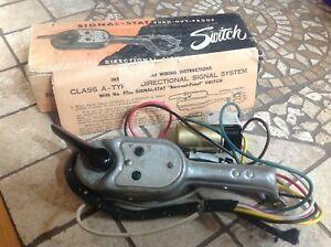 Nib Signal Stat Turn Signal Switch 700 Vintage Auto Truck Directional Lamps 12v