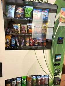 Combo Vending Machine perfect Condition inc Credit Card google Wallet apple Pay