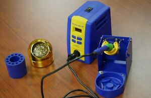 Hakko Fx951 66 Kit 1 With T15 b2 And T15 d08 Tips Blue And Orange Tip Sleeve
