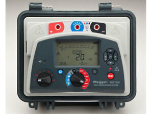 Megger Mit1025 kit Mit1525 With A Vf2 Voltage Detector