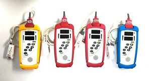 Lot Of 4 Masimo Set Rad 57 Pulse Ox Oximeter Hand Held With Finger Sensors