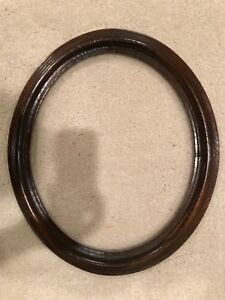 Vintage 17x14 Medium Size Oval Wood Picture Frame C