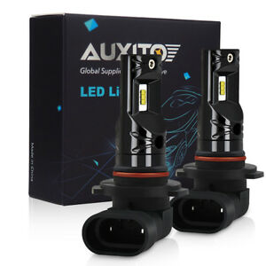 2x Auxito 9006 Hb4 Led Fog Light Bulb 2600lm For Ram 1500 2500 3500 2013 2015 Cp
