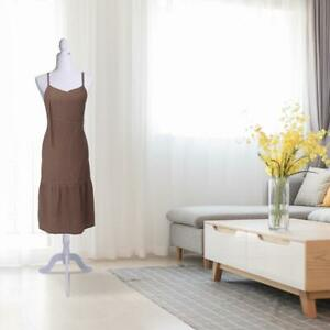 Female Mannequin Torso Clothing Display W White Tripod Store Clothing Display