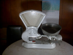 Antique Vintage Toledo Candy Produce Scale 15 Lb Style 728 Cg Rare All Original