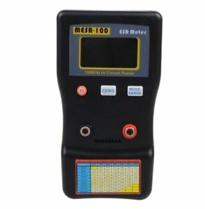 Mesr 100 Esr Low Ohm Circuit Capacitor Tester english Support