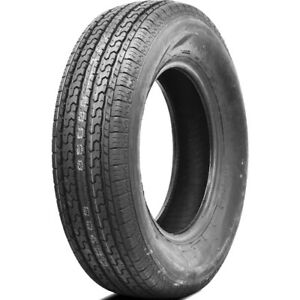 Ultra Crt St205 75r15 Load D 8 Ply Trailer Tire