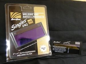 Welding Helmet Lens Horizontal Single Auto Darkening Filter Shade 11 Speed New