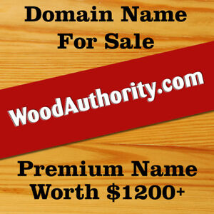 Woodauthority com Domain Name For Sale Premium Name Worth Over 1200