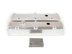 Canton Ford 302 351w Fabricated Aluminum Valve Covers Sbf Fabbed Pvc Port 65 301