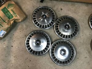 1984 94 Buick Century Skylark 14 Hubcaps Wheel Covers Set Of 4 Gm 10154249