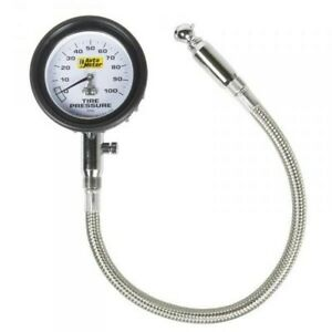 100 Psi Mechanical Tire Pressure Gauge 0 100 Psi Auto Meter 2164