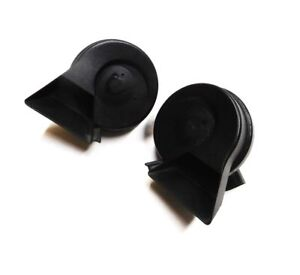 2006 Audi A4 B7 High Low Note Tone Signal Safety Horn Set 2