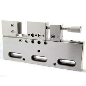 1x High Quality Wire Edm High Precision Vise Stainless Steel 150mm Jaw Opening