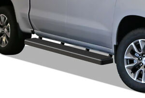 Iboard Running Boards 6 inch Black Fit 19 21 Chevy Silverado Gmc Sierra Crew Cab