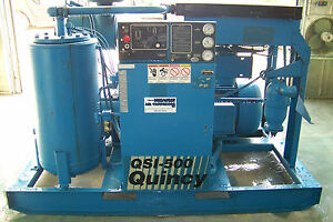 Quincy Qsi 500 100 Hp Rotary Screw Air Compressor 1yr Airend Warranty