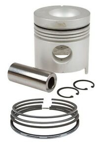 Piston With Rings Standard Ford 8000 8200 8600 8700 Tw10 Tractor
