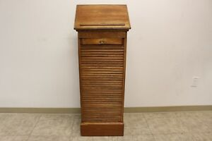 Antique Music Sheet Holder Stand Cabinet
