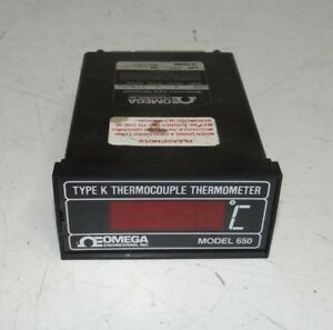 Omega Model 650 Type K Thermocouple Thermometer