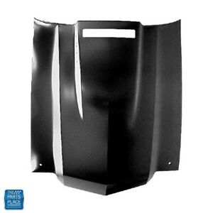 1970 1972 Chevelle El Camino Ss Cowl Induction Steel Hood Later Design