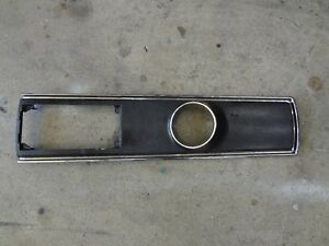 Chevelle Console Top Plate Original Gm For Auto 66 67