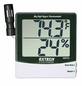 Extech 445715 Big Digit Hygro thermometer 116th28