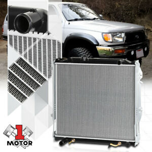 Aluminum Cooling Radiator Oe Replacement For 96 02 Toyota 4runner At mt Dpi 1998