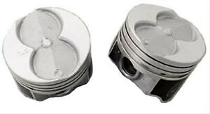 Sbf Small Block Ford 351w Speed Pro Flat Top Pistons 4 00 Bore 4 Valve Relief