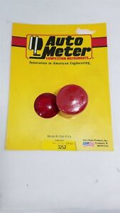 3252 Auto Meter Red Lens Cover Kit