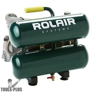 Rolair Vt20st 2hp Splash Lubricated 4 2 Cfm 90psi Air Compressor New