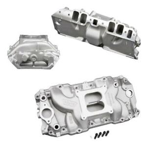 Weiand Stealth Intake Manifold Chevy Bbc 396 427 454 Fits Rectangular Port Heads