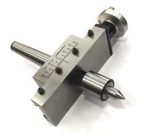 New Improved Taper Turning Attachment With Revolving Live Center For Lathe mt1