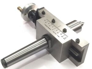 New Improved Taper Turning Attachment With Revolving Live Center For Lathe mt2