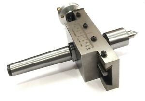 New Improved Taper Turning Attachment With Revolving Live Center For Lathe mt3