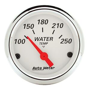 Autometer 1337 Water Temperature Gauge With Electric Air Core 2 0625