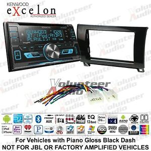Kenwood Dpx593bt Double Din Cd Player Car Radio Install Mount Kit Bluetooth