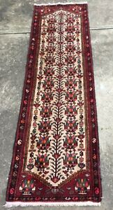 Decorative Estate Beautiful Hand Knotted Persian Rug Runner 9 4 X 2 10 Ft