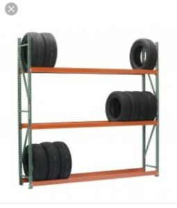 Extra High Capacity Bulk Rack With Wire Decking 96 w X 24 d X 96 h Starter