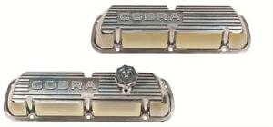 Ford Racing Efi Valve Covers M 6000 D302 Ford Small Block V8 Polished
