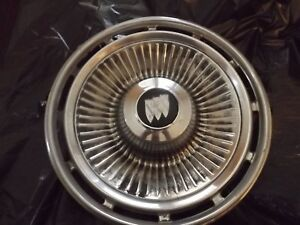 Vintage Buick 1963 Riviera Hubcaps Matching Set A Pair Or Wall Art