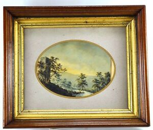 Antique Victorian Eastlake Deep Shadow Box Frame Two Tiered