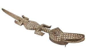 Nuna Bwa Horizontal Crocodile Mask Large African Art