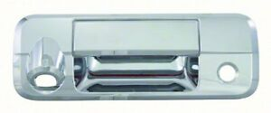 Chrome Tail Gate Cover w Camera For 2007 2010 Toyota Tundra