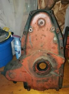 Wisconsin Vh4d Engine Front Timing Gear Cover Bd 100f Part Bobcat Newholland