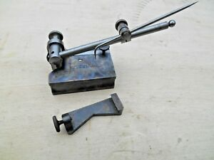 Vtg Starrett No 56 Surface Gage With 4 Spindle Guide Pat March 17 1897