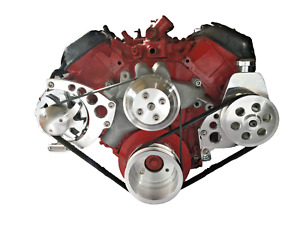 Big Block Chevy Serpentine Pulley Conversion Kit Alt Ps Bbc Lwp 396 427 454 2